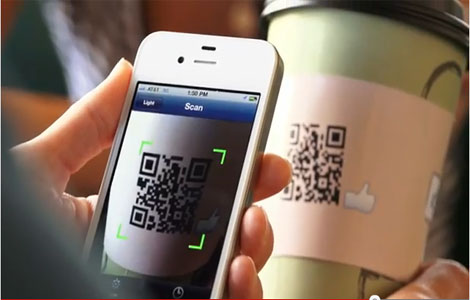 Scanning business info from a QR code onto a smartphone | Noticedwebsites