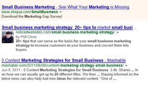Google Authorship, one of many Google tools to maximize website SEO; NoticedWebsites.com