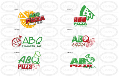 Abc Pizza Logo | NoticedWebsites