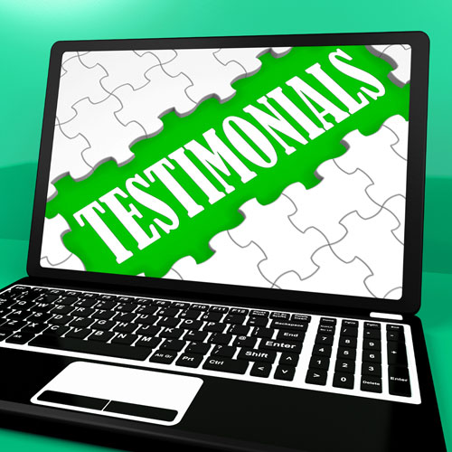 Maximizing Your Testimonials and Sales, Part One