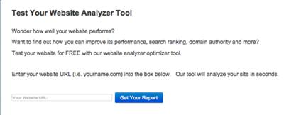 Free website analyzer tool | NoticedWebsites